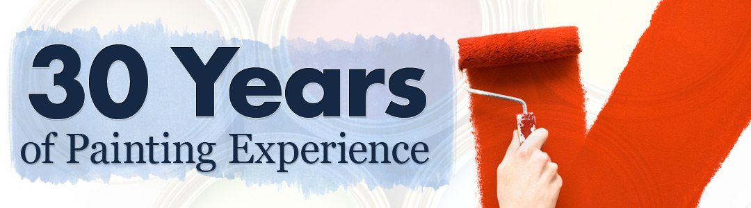 30 years of painting experience banner