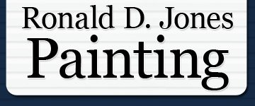 Ronald D. Jones Painting Logo